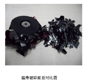 磁带销毁_大量光盘销毁_银行卡销毁